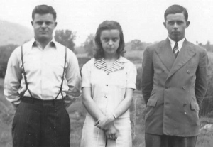 Gavin siblings, ca. 1940