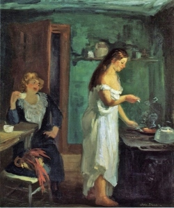John Sloan - Three a.m., 1909