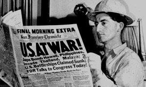 Pearl Harbor headline