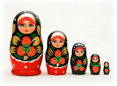 Russina nesting dolls
